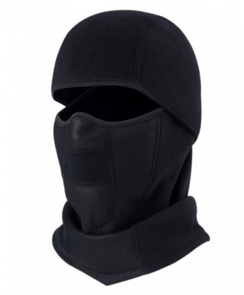 ChinFun Balaclave Windproof Motorcycle Black Polar - Black Balaclava-Polar Fleece - CF1872NMIWX