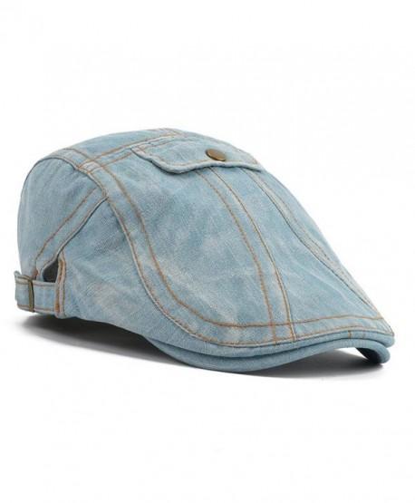 Elwow Stretch Fashion Vintage Snapback - White Blue - CN12IP54F27
