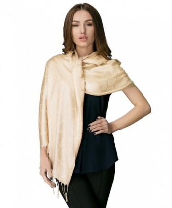 Ladies Cotton Evening Glittering Scarves