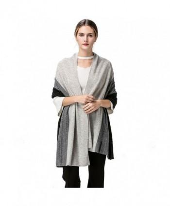 Fincati Scarves Cashmere Pashmina Contrast in Fashion Scarves