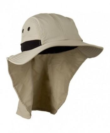 Mesh Sun Protection Flap Hat
