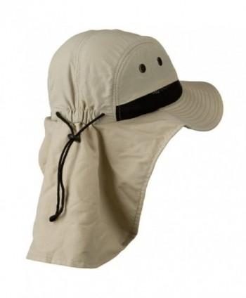 Mesh Sun Protection Flap Hat in Men's Sun Hats