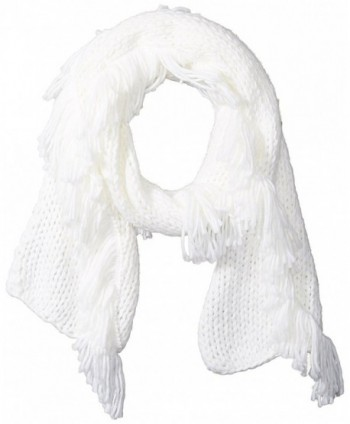 Vince Camuto Women's All Over Fringe Scarf - White - CS1847IYYH6
