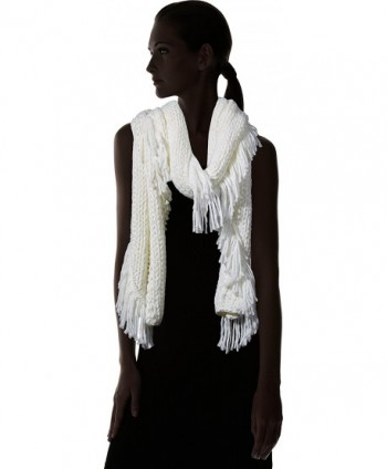 Vince Camuto Womens Fringe Scarf in Cold Weather Scarves & Wraps