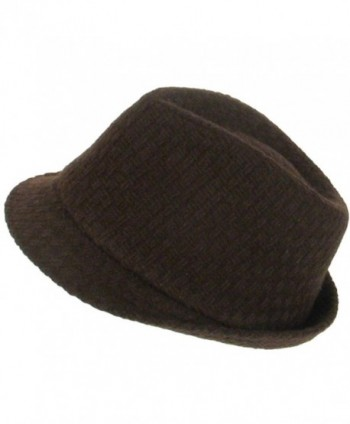 Woven Stingy Fedora Trilby Hat