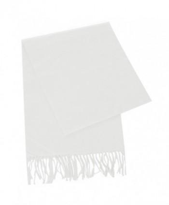 fashion2100 Super Cashmere Scarf White