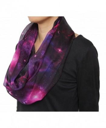 Fashion Nebula Twinkle Chiffon Infinity