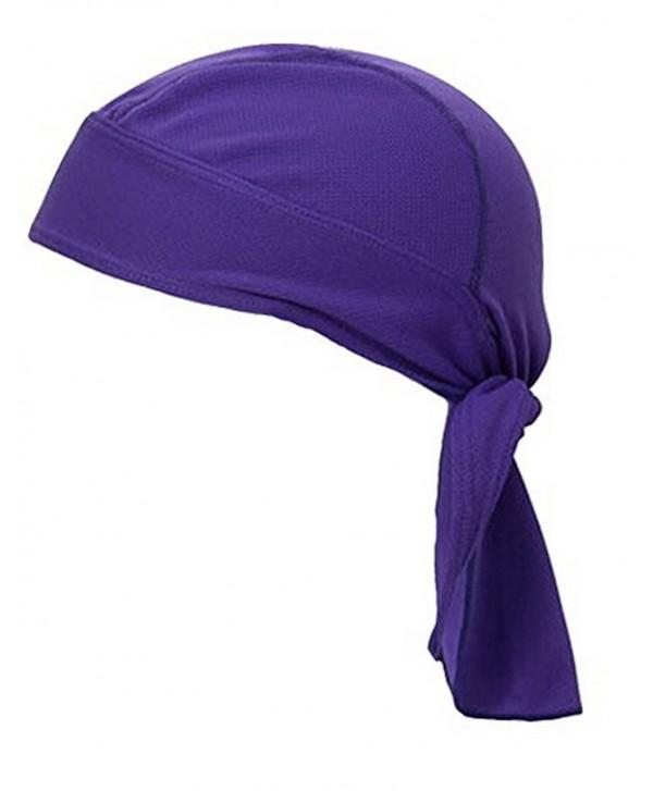 """Breathable Protection Sweatband Adjustable Motorcycle - """" Purple """" - CB12KSWUYON"""
