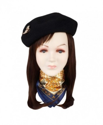 Jeicy Beret Solid French Brooch