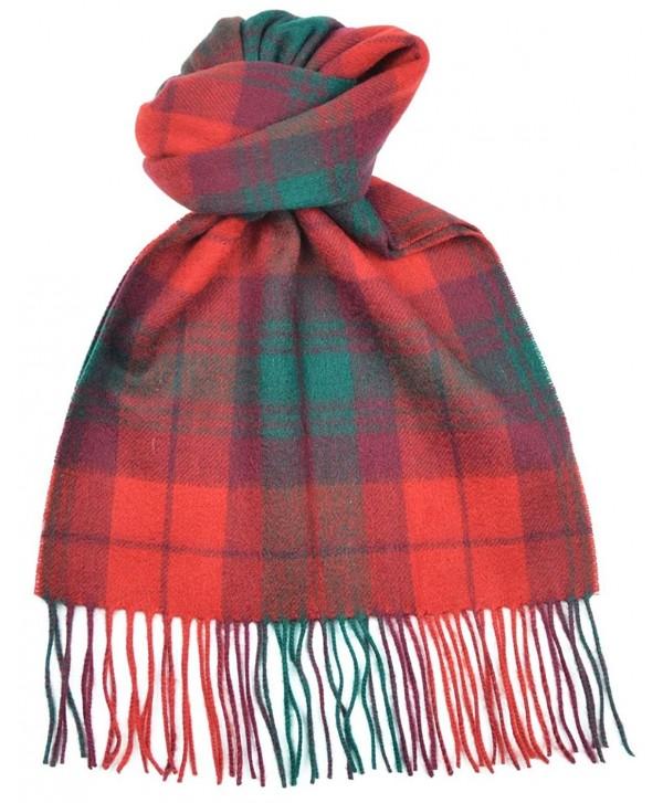 Lambswool Scottish Macnab Modern Tartan Clan Scarf Gift - CR118SCFDJR