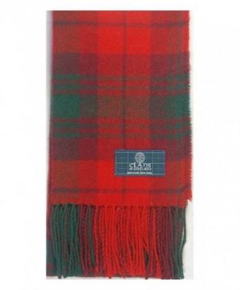Lambswool Scottish Macnab Modern Tartan