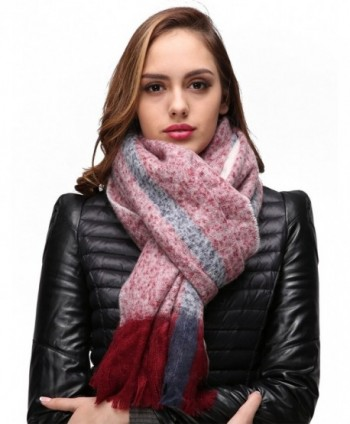 EVRFELAN Blanket Oversized Pashmina Fashion in Cold Weather Scarves & Wraps