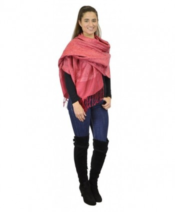 Belle Donne Womens Paisley Pashmina in Fashion Scarves