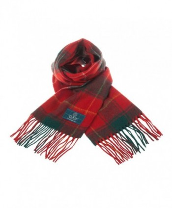 Clans Scotland Scottish Tartan Macphie in Cold Weather Scarves & Wraps