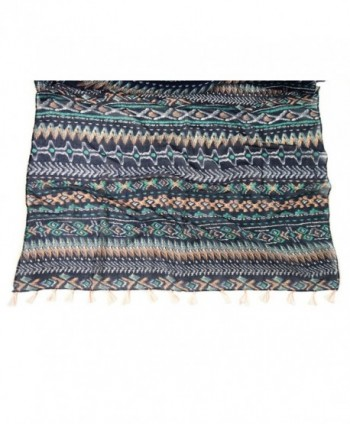 Bruceriver Womens Fashion Printed Tassels in Fashion Scarves