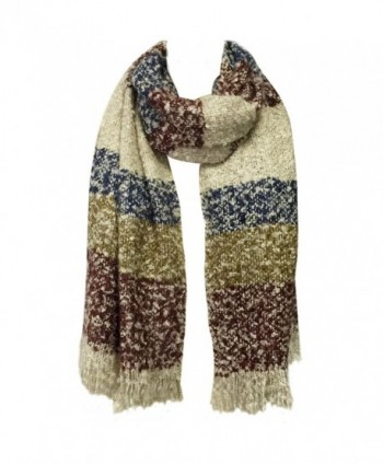 Wrapables Winter Shawl Tassels Burgundy in Cold Weather Scarves & Wraps