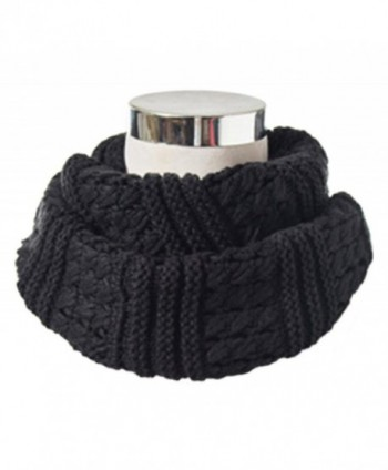 HONEYJOY Winter Twist Knit Warm Infinity Circle Scarf - Diff Colors (07) - CG12NYHSDHI