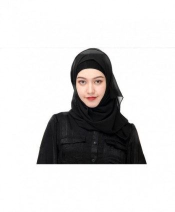 Uphily Lightweight Muslim Chiffon Islamic