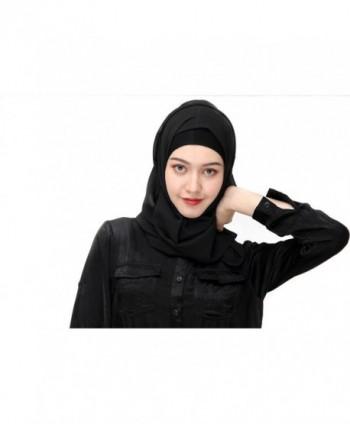 Uphily Lightweight Muslim Chiffon Islamic in Fashion Scarves