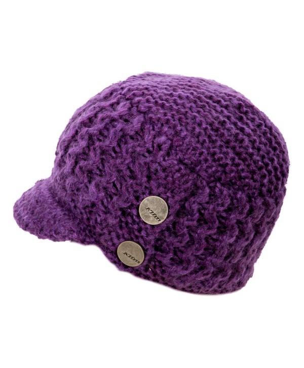 Klim Adult Peak Beanie Hat One Size Purple - C812707M62R