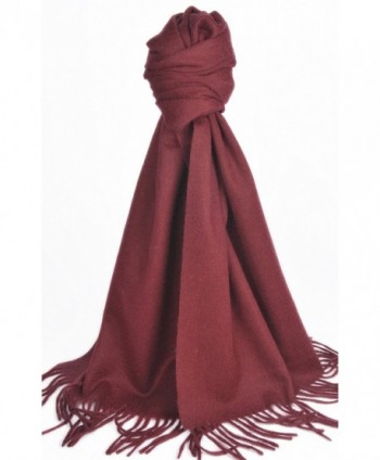 Natural Cashmere Scarf Shawl Pomegranate in Fashion Scarves