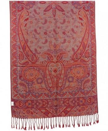 Kuldip Reversible Jamawar Pashmina 3000242 in Wraps & Pashminas