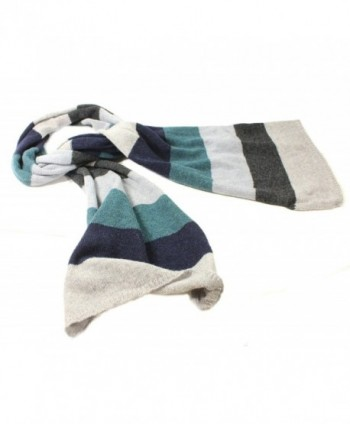 Striped Scarf Long Lambswool Irish in Cold Weather Scarves & Wraps