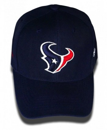 C-2 Stitch Houston Texans Glow In The Dark Adjustable Hat - Blue - CY17YX3Q64O
