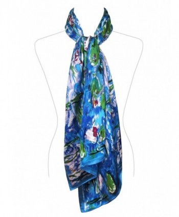 Swhiteme Luxurious 100 Charmeuse Scarf in Fashion Scarves