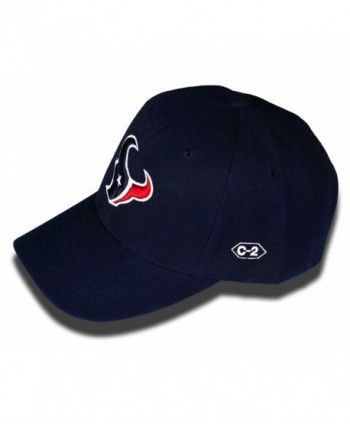 C 2 Stitch Houston Texans Adjustable in Men's Baseball Caps