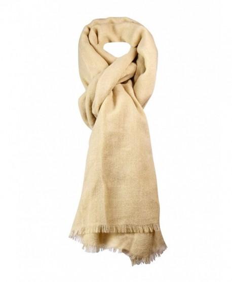 Collection Eighteen Women's Woven Wrap Scarf - Camel - CR126MLPDTZ