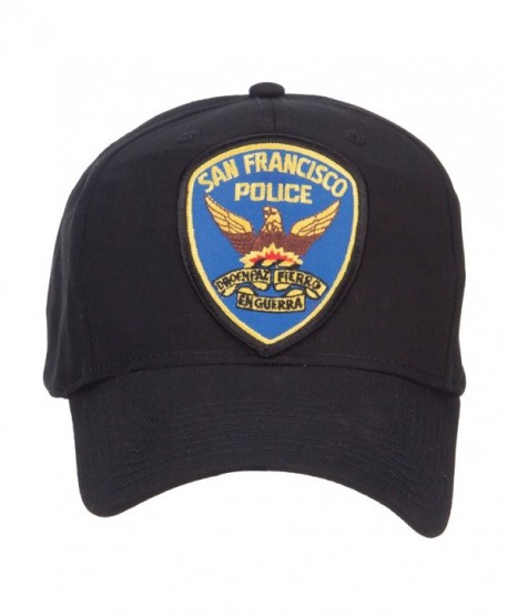 San Francisco Police Seal Patched Cotton Twill Cap - Black - CO126E5TT5N