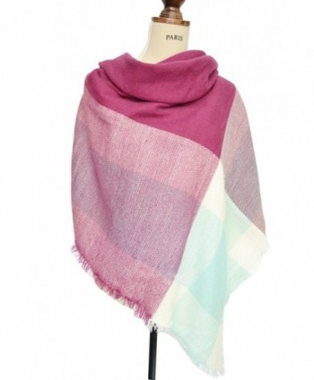 Ancia Lovers Houndstooth Reversible Purpose in Cold Weather Scarves & Wraps