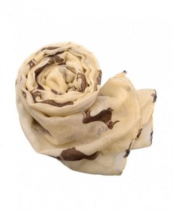 Fashion Animal Dachshund Pashmina Scarves in Wraps & Pashminas
