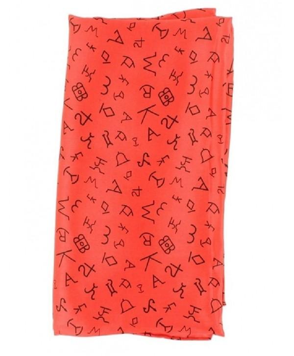 M&F Western Scarf Cowboy 100% Silk Wild Rag Brands 42 x 42 09050 - Red - CR11Q975VWR