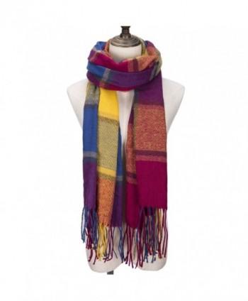 CHASOEA Blanket Lattice Scarves Multicolour