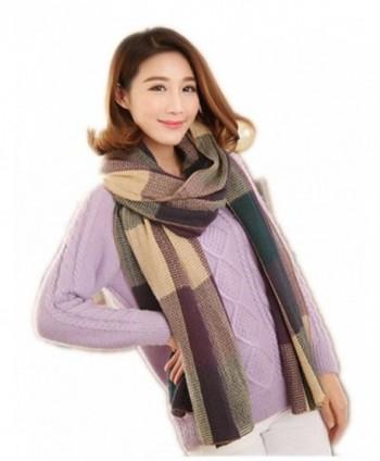ViviClo Women's Stylish Super Warm Scarf Long Shawl Soft Blanket Wrap - 6-3 - CQ12O3NDDJU