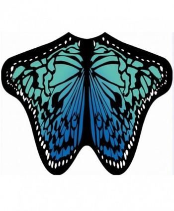 HITOP Chiffon Halloween Butterfly Festival in Wraps & Pashminas