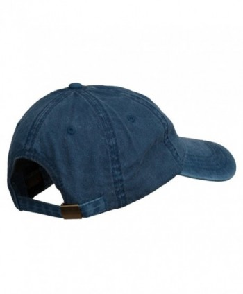 Maine State Moose Embroidered Washed in Men's Baseball Caps