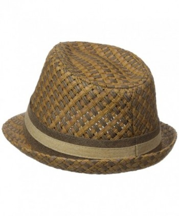 Henschel Paper Straw Fedora Medium
