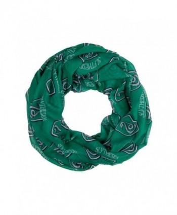 Harry Potter House Slytherin Green Viscose Scarf - CW12N8SET25