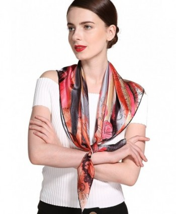 Ideal Women Square Scarf Brown