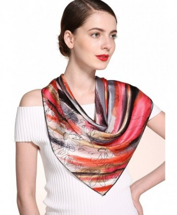 Ideal Women Square Scarf Brown in Fashion Scarves