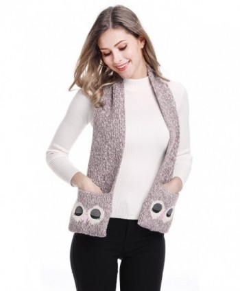 Adult Kid's Winter Warm Soft Owl Scarf Fun Candy Colors - Adult - CO125RP9311