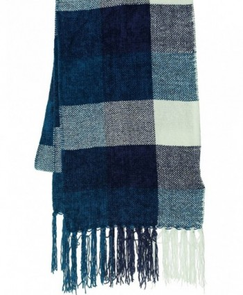 Charter Club Women's Checkered Chenille Scarf - M - CC11MBEX6IX