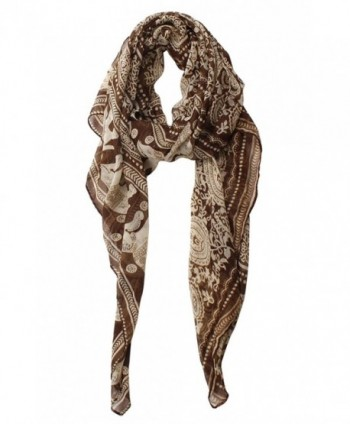 Herebuy Designer Scarves Fashionable Elephant in Fashion Scarves