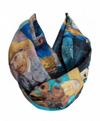Etwoa's Van Gogh Paintings Infinity Scarf Circle Loop Tube Scarf - CU187EO5DKI