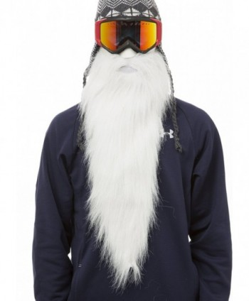 Beardski Merlin Face Mask White in Men's Balaclavas