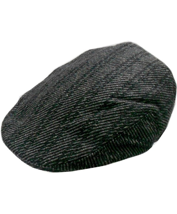 Mens Wool Blend Plaids Ivy Golf Driver Hat Irish Hunting Gatsby Flat Cap - CF11O0BXZTP