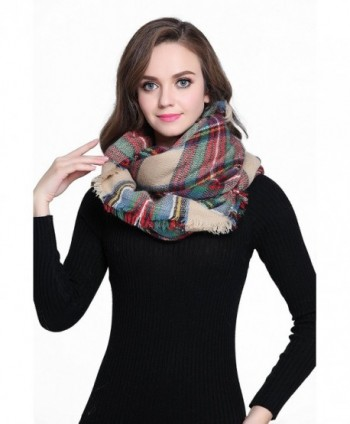Buttons Pleats Blanket Fashion Winter in Fashion Scarves